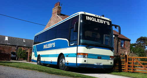 Inglebys Coach Outside House